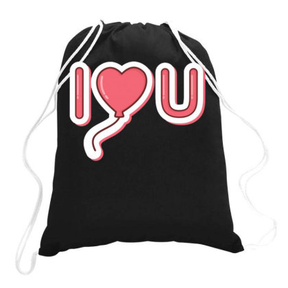 Valentine's Day 1 Drawstring Bags Designed By Dulart