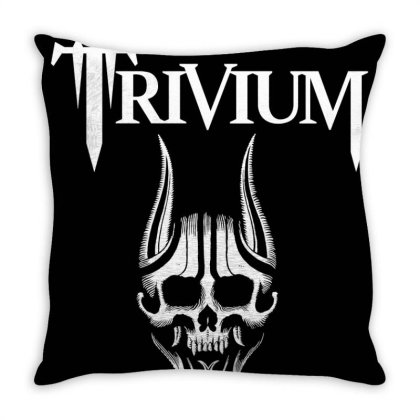Heavy Metal Band Throw Pillow Designed By Yahyafasya