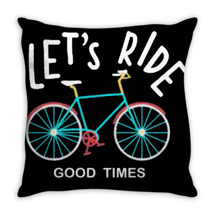 Let's Ride Together All Throw Pillow Designed By Yahyafasya