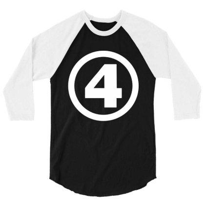 Fantastic Four 3/4 Sleeve Shirt Designed By Kimochi