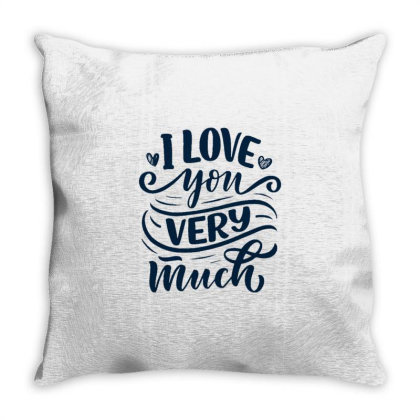 Valentine's Day 5 Throw Pillow Designed By Dulart