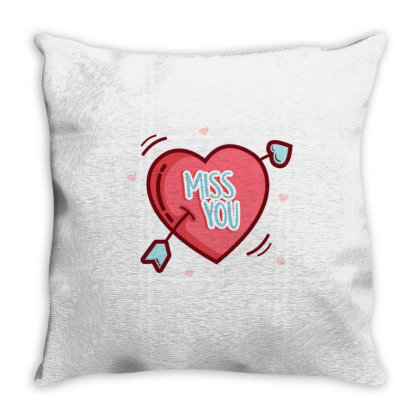 Valentine's Day Heart 1 Throw Pillow Designed By Dulart