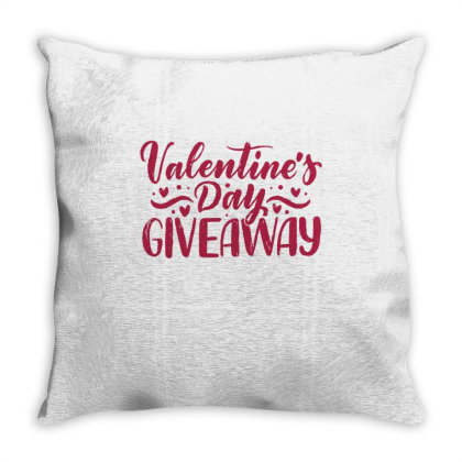 Valentine's Day Giveaway 1 Throw Pillow Designed By Dulart