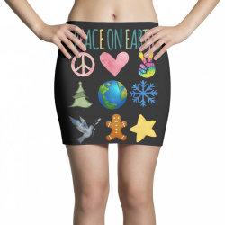 PEACE ON EARTH Mini Skirts | Artistshot