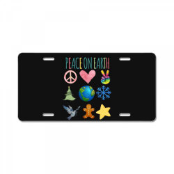 PEACE ON EARTH License Plate | Artistshot