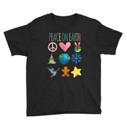 Peace On Earth Youth Tee Designed By Bettercallsaul