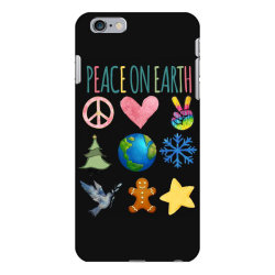 PEACE ON EARTH iPhone 6 Plus/6s Plus Case | Artistshot