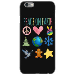 PEACE ON EARTH iPhone 6/6s Case | Artistshot