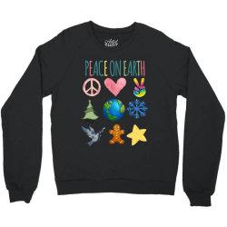 PEACE ON EARTH Crewneck Sweatshirt | Artistshot