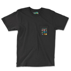 Peace On Earth Pocket T-shirt Designed By Bettercallsaul