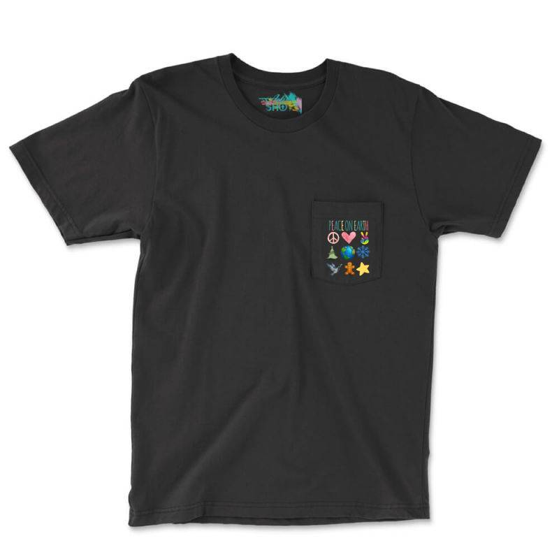 Peace On Earth Pocket T-shirt | Artistshot