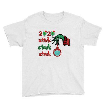2020 Stink Stank Stunk Elf Christmas Mask Youth Tee Designed By Alparslan Acar