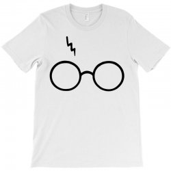 Harry Potter Lightning Glasses T-Shirt | Artistshot