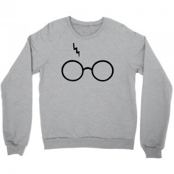 Harry Potter Lightning Glasses Crewneck Sweatshirt | Artistshot