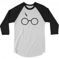 Harry Potter Lightning Glasses 3/4 Sleeve Shirt | Artistshot