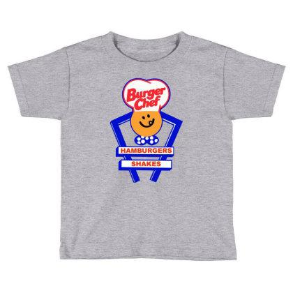 Burger Chef Toddler T-shirt Designed By Studio Poco    Los Angeles