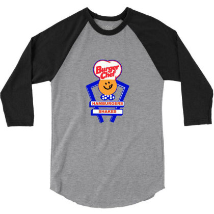 Burger Chef 3/4 Sleeve Shirt Designed By Studio Poco    Los Angeles