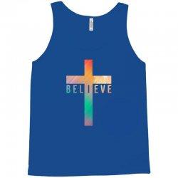 i believe cross Tank Top | Artistshot