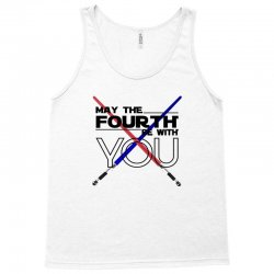 May The Fourth Be With You Lightsabers Tank Top | Artistshot
