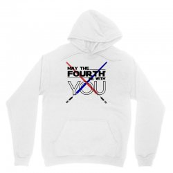 May The Fourth Be With You Lightsabers Unisex Hoodie | Artistshot