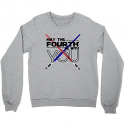 May The Fourth Be With You Lightsabers Crewneck Sweatshirt | Artistshot