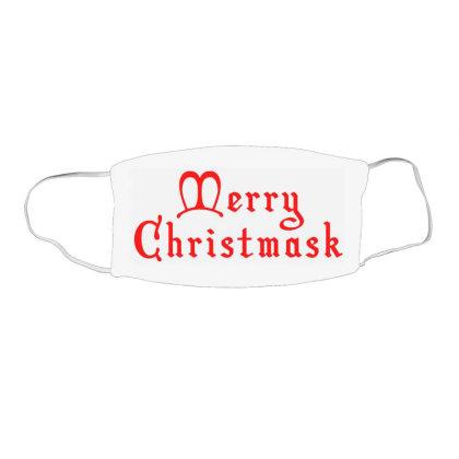Merry Christmask Face Mask Rectangle Designed By Laravirna