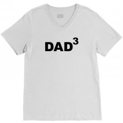 Husband Gift DAD 3 V-Neck Tee | Artistshot