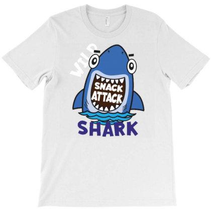 Wild Shark T-shirt Designed By Dulart