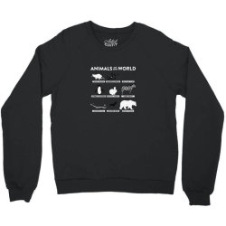 animals of the world classic Crewneck Sweatshirt | Artistshot