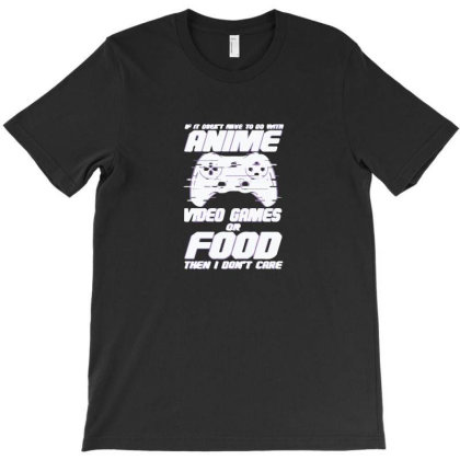 Anime Video Games Or Food T-shirt Designed By Yusrizal_
