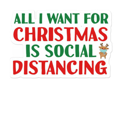 Social Distancing Time Sticker Designed By Vidi Almano