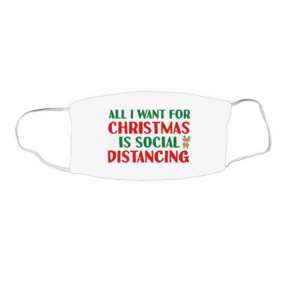Social Distancing Time Face Mask Rectangle Designed By Vidi Almano