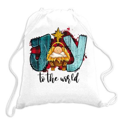 Joy To The World Drawstring Bags Designed By Alparslan Acar