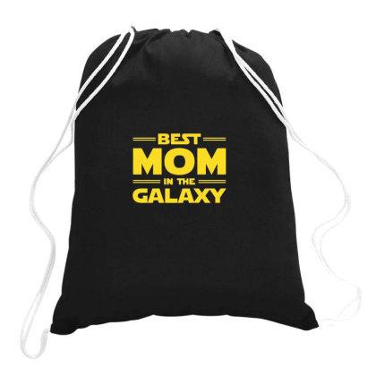 Best Mom In The Galaxy Drawstring Bags Designed By Yusrizal_