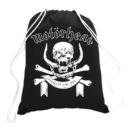 Motor Head Heavy Metal Band Drawstring Bags Designed By Kimochi