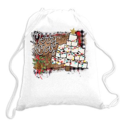 Toilet Paper Christmas Tree Drawstring Bags Designed By Alparslan Acar