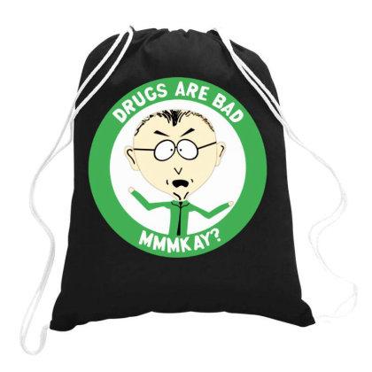 Mr Mackey Drawstring Bags Designed By Kimochi