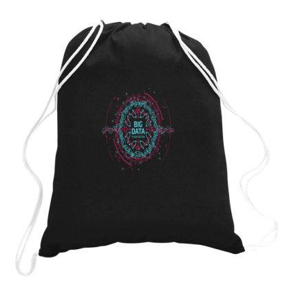Big Data Intelligent Science Essential Drawstring Bags Designed By Yusrizal_