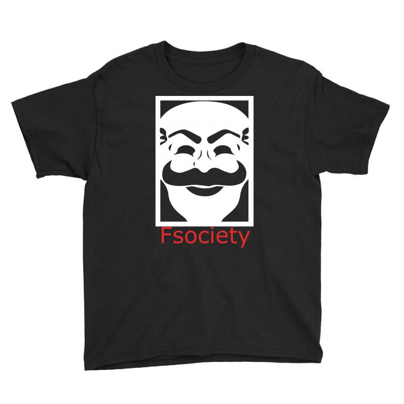Fsociety Youth Tee | Artistshot