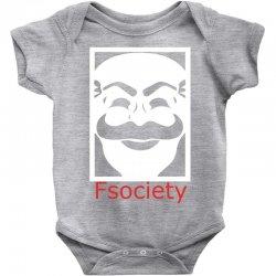 fsociety Baby Bodysuit | Artistshot