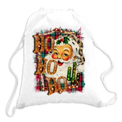 Christmas Ho Ho Ho Drawstring Bags Designed By Bettercallsaul