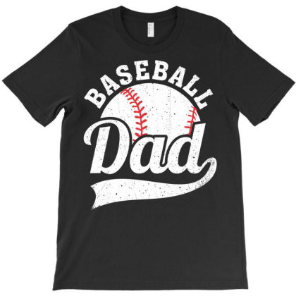 Baseball Dad Baseball Sports Lover T-shirt Designed By Koopshawneen