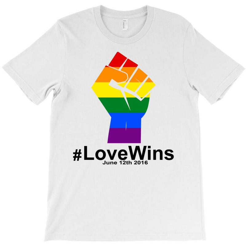 Love Wins 12th 2016 - Orlando Strong T-shirt | Artistshot