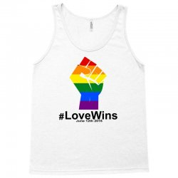 Love Wins 12th 2016 - Orlando Strong Tank Top | Artistshot