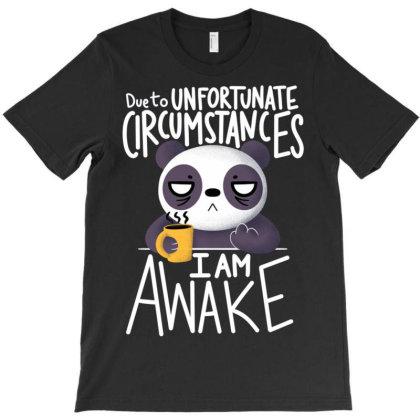 Morning Panda T-shirt Designed By Koopshawneen