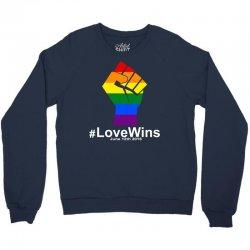 Love Wins 12th 2016 - Orlando Strong Crewneck Sweatshirt   Artistshot