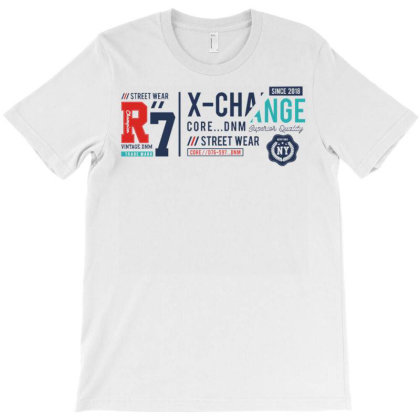 X Change T-shirt Designed By Dulart