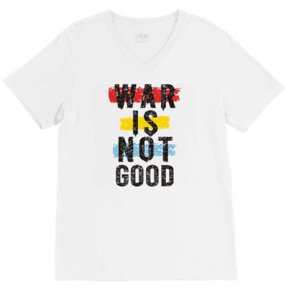 Wr Is Not Good V-neck Tee Designed By Dulart