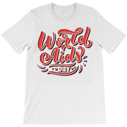 World Aids Day T-shirt Designed By Dulart