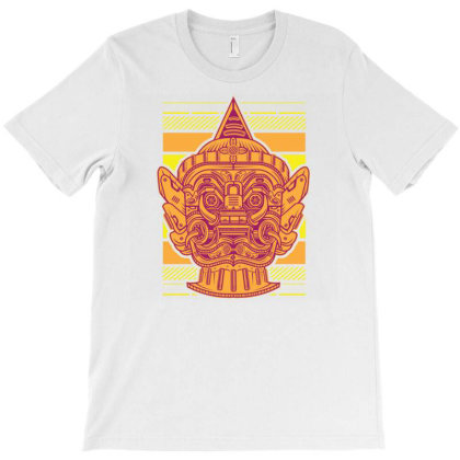 Yaksha The Guardian Giant Mecha T-shirt Designed By Dulart